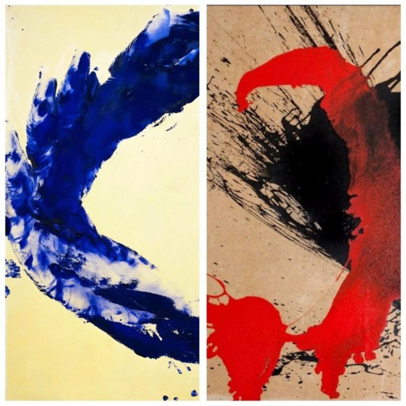 Михнов-Войтенко и абстрактный экспрессионизм