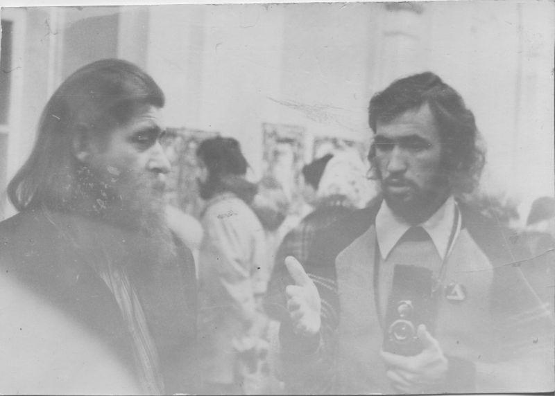 Евгений Михнов-Войтенко и Анатолий Путилин. 1976 год.