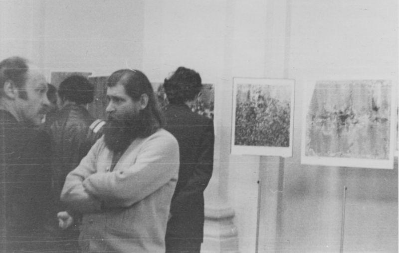 Евгений Михнов-Войтенко и Эдуард Сорокин. 1976 год.