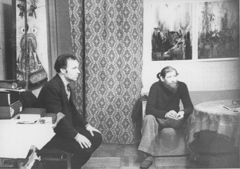 Александр Альтшуллер и Евгений Михнов-Войтенко, 1979 год.