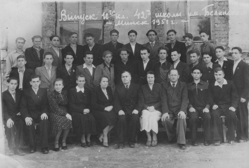 Евгений Михнов-Войтенко в выпускном классе