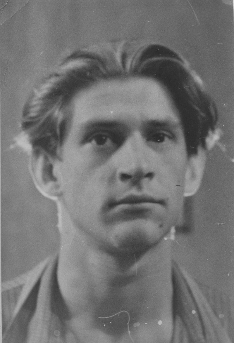 Евгений Михнов-Войтенко. Ленинград. 1952 год.