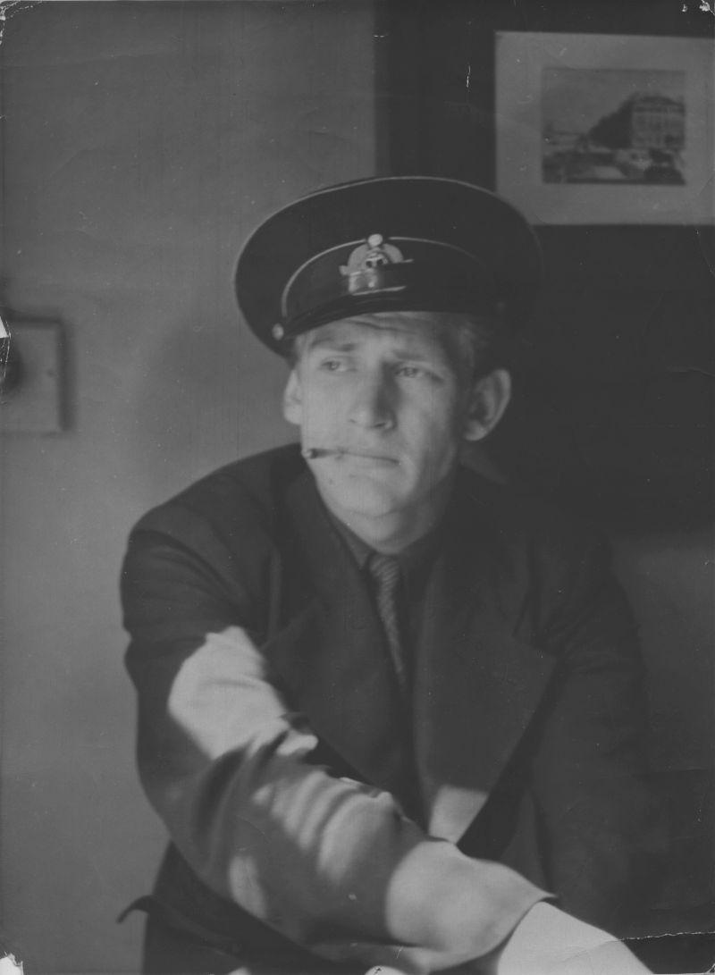 Евгений Михнов-Войтенко. Ленинград. 1955 год