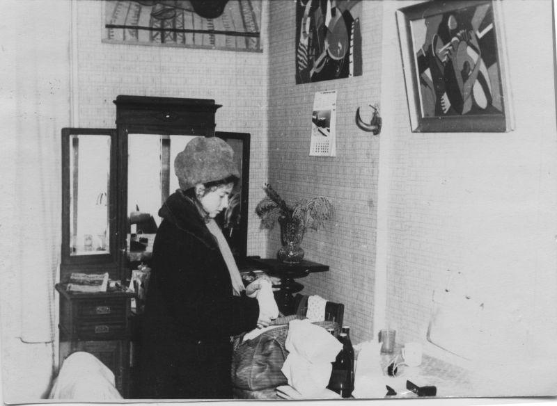 Сестра Евгения Михнова-Войтенко, Людмила Хозикова. 1962 год