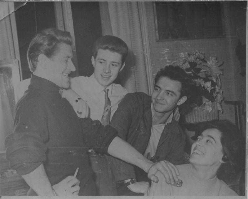 На свадьбе сестры. 1962 год