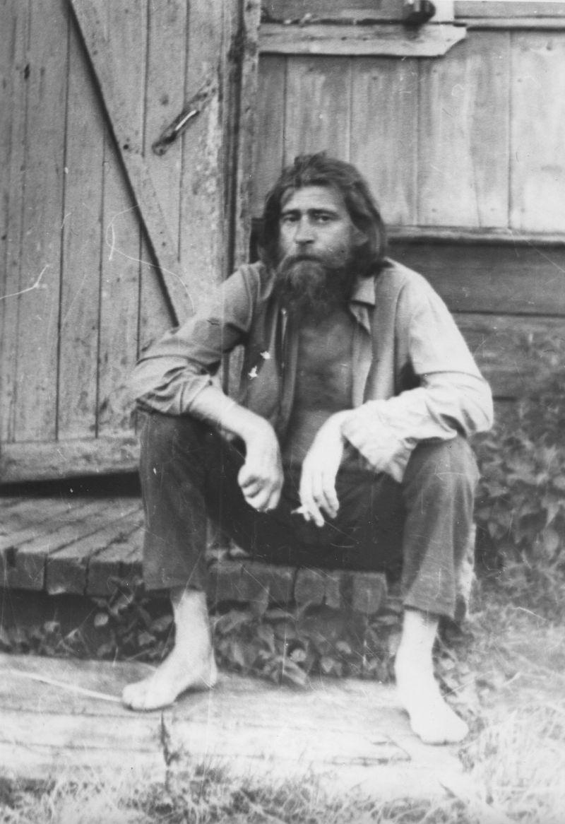 Евгений Михнов-Войтенко, лето 1972 года.