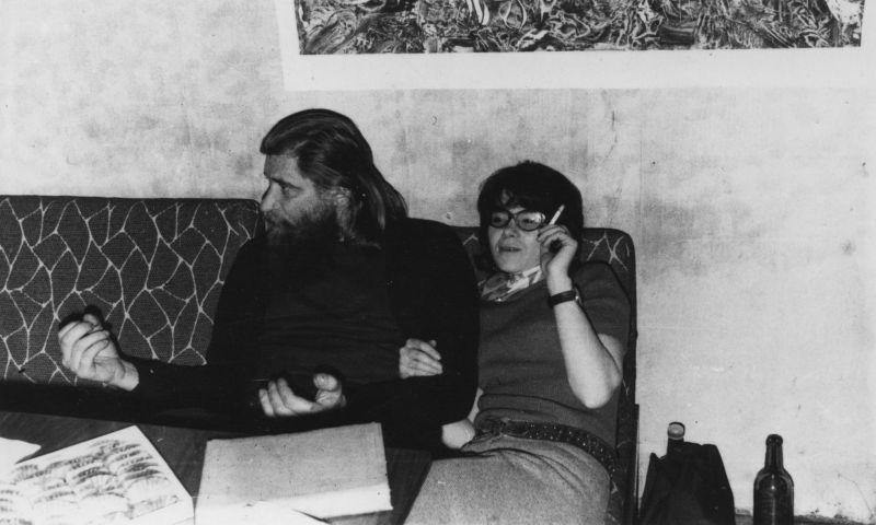 Евгений Михнов-Войтенко и Галина Родионова. 1973 год.