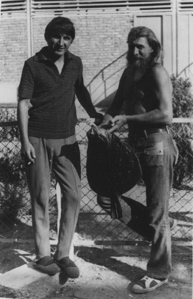 В Алуште, 1974 год